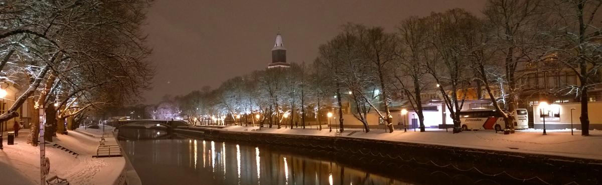 Aurajoki, Turku.
