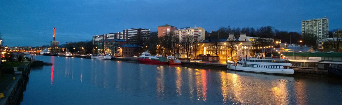 Turku ja Varsinais-Suomi on yksi Humakin alueista.