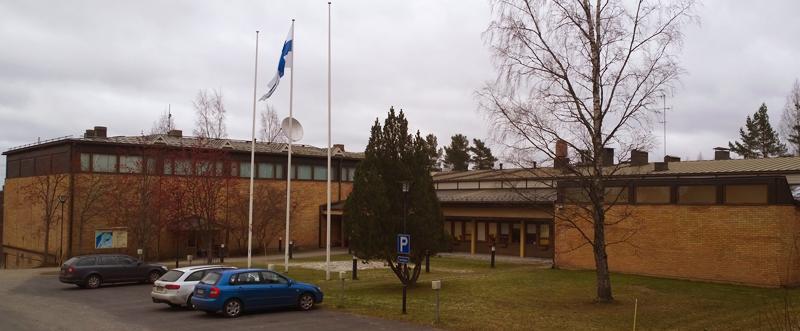 Jyväskylän kampus marraskuussa 2014