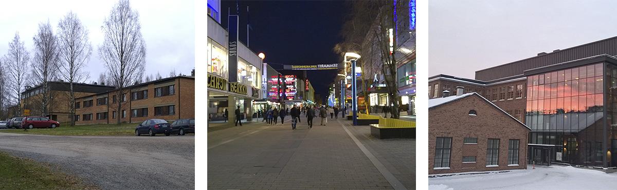 Humakilla on myös toimipisteitä Jyväskylässä.