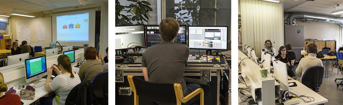 Humanistinen ammattikorkeakoulun opetus toimii myös erilaisissa verkkoympäristöissä.