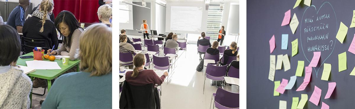 Yhteishaussa voit hakea Yhteisöpedagogi AMK-tutkintoon.