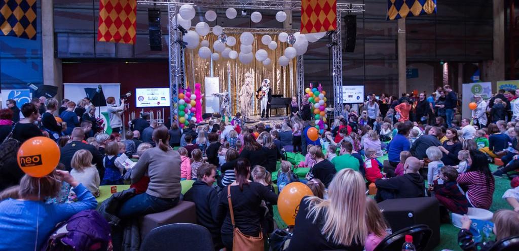Ipanahipat-lastenfestivaali järjestettiin ensimmäistä kertaa. Se oli onnistunut: paikalla oli yli 4000 lasta vanhempineen.