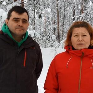 Kari Keuru ja Kristiina Hämäläinen
