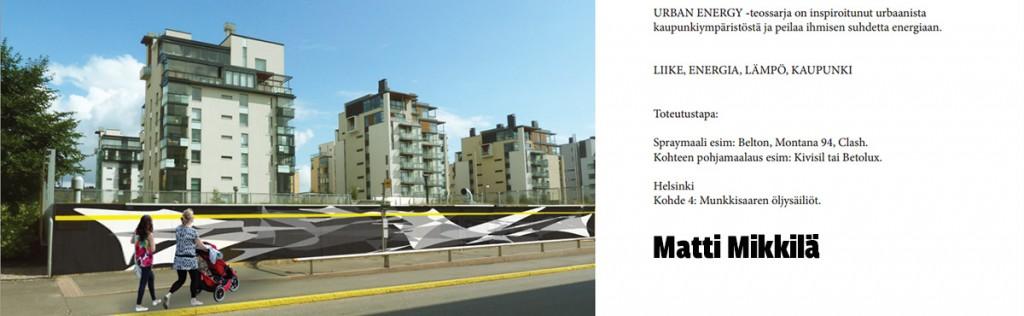 Matti Mikkilä Urban Energy