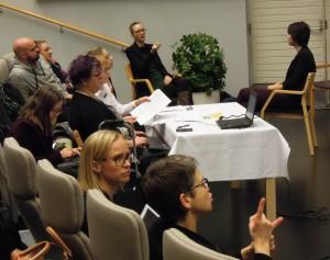 IEID seminaari tulkattiin viittomakielelle ja kirjoitustulkattiin