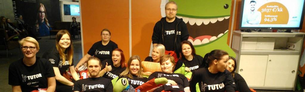 Opiskelijan ja hakijan tärkeä tietolähde ovat tutorit