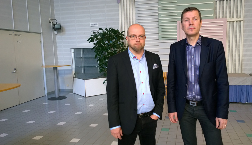 Ensio Vatanen ja Tapio Huttula