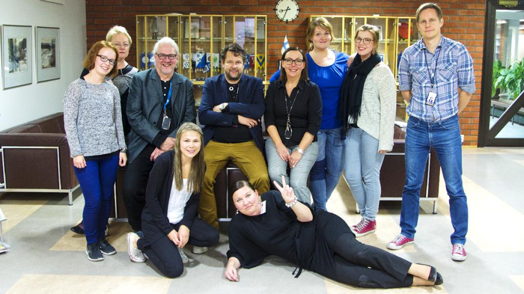 Mukana oli myös Nurmijärven hyvinvointitiimissa oli mukana kolme Humakin opiskelijaa.