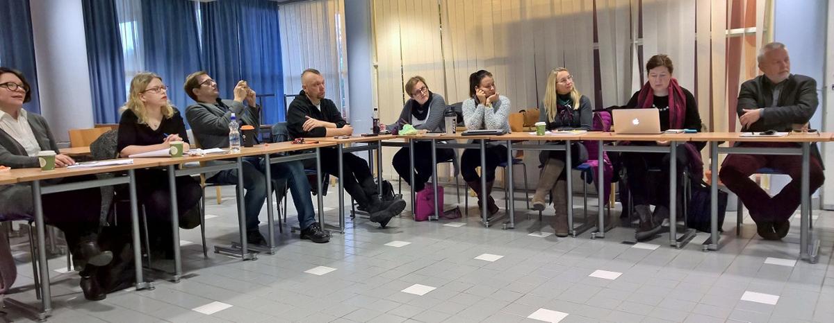 Paneelikeskustelu päätti ensimmäisen vapaaehtoistoiminnan johtamisen osan.