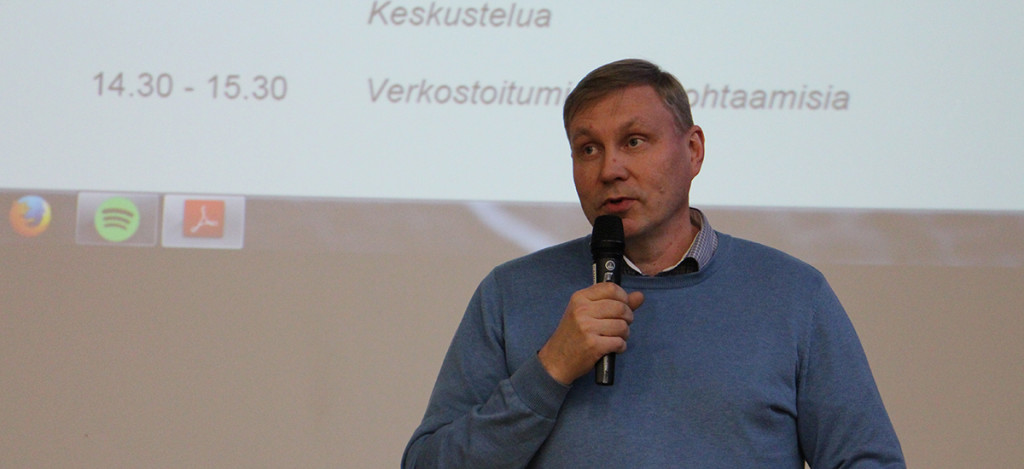 Monikulttuurisuus on tärkeää jo opiskeluaikana sanoi Jukka Määttä
