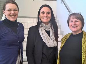 Elisabet Tiselius, Gro Hege Saltnes-Urdal ja Ingeborg Skaten