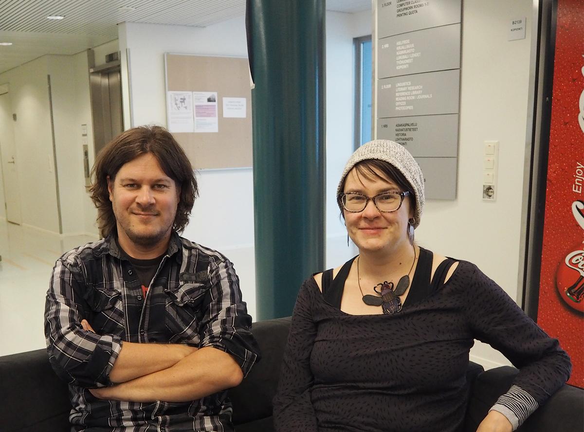 Petri Anttila ja Marjo Nevalainen opiskelevat kulttuurituottajiksi