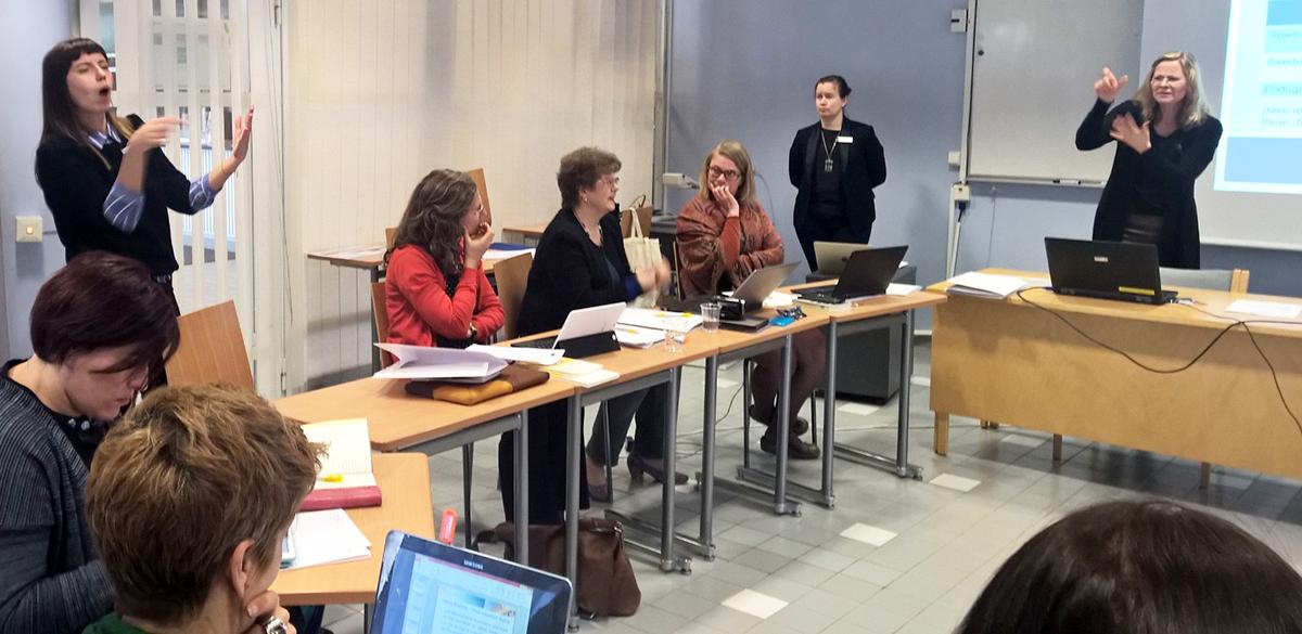 Erasmus + -hanke selvittää kuurojen tulkkien asemaa
