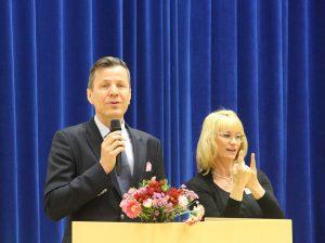 Keväällä 2017 Tapio Huttula piti puheen Kuopiossa