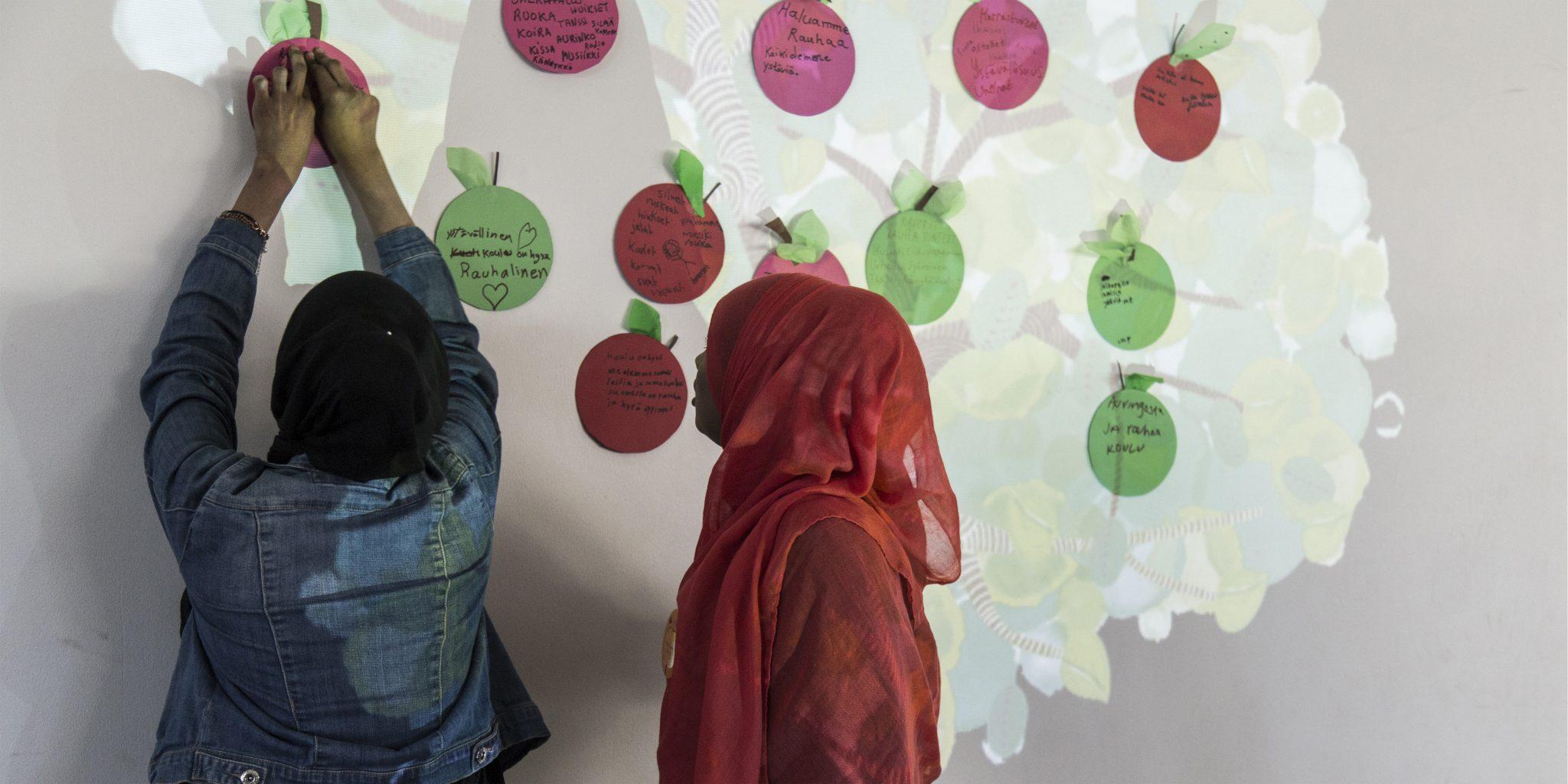 Sata omenapuuta-hankkeen tapahtuma