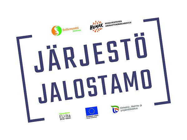 Järjestöjalostamo-hankkeen logo