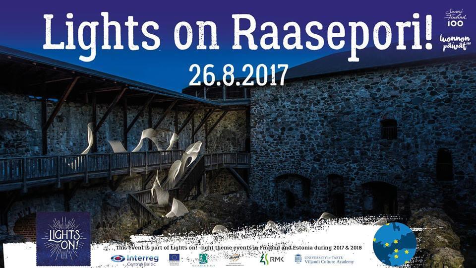 Valot syttyvät Raaseporissa
