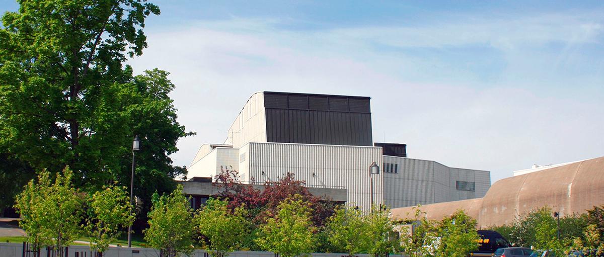 Alvar Aallon suunnittelema Jyväskylän kaupunginteatteri