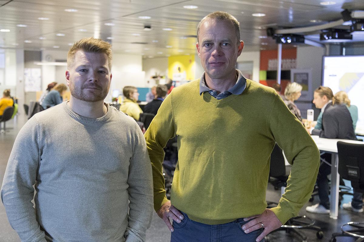 Miikka Liimatainen ja Markus Suomi