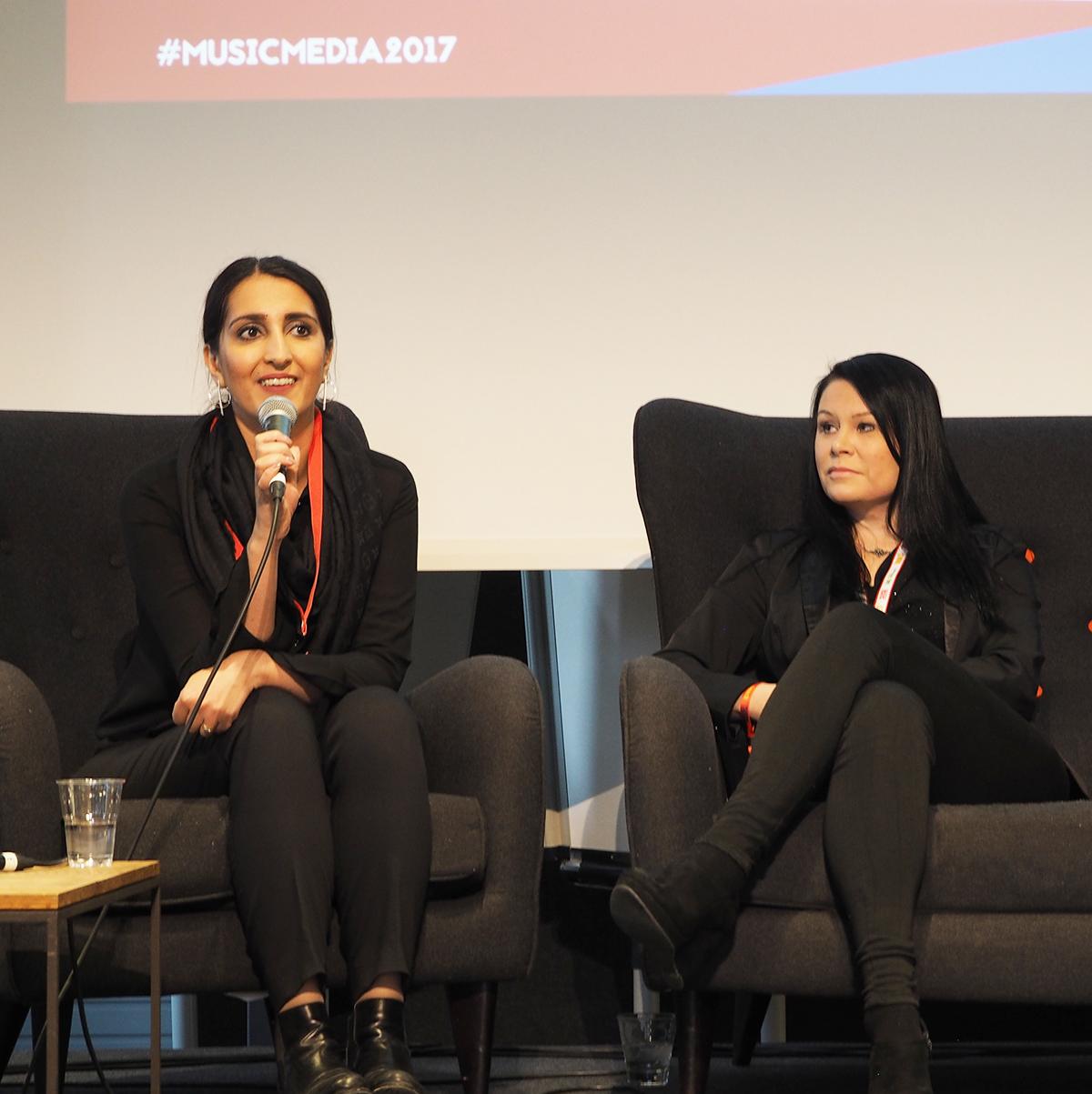 Nasima Razmyar on myös Humakin alumni ja opiskelija