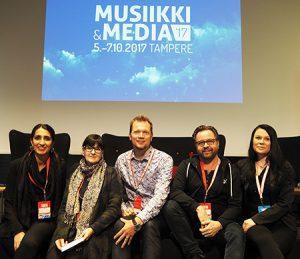 KUTU YAMK järjesti paneelin Tampereella #musamedia17