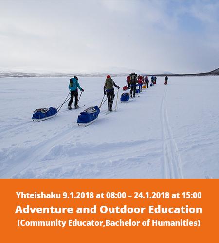 Lue lisää seikkailukasvatuksen tutkintoon johtavasta koulutuksesta