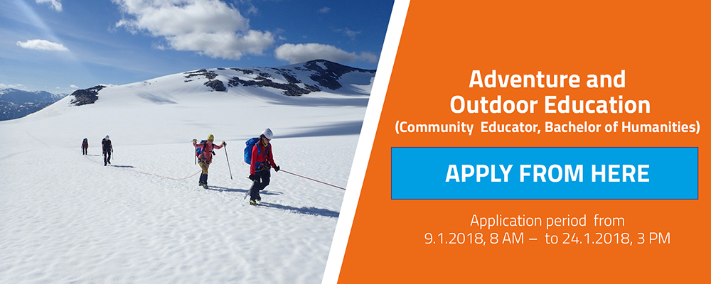 Apply to Adventure Education from here