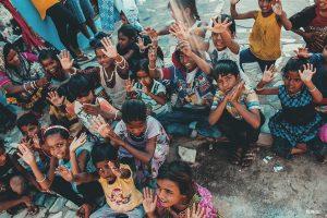 Fida tekee työtä lasten ja nuorten parissa kehitysmaissa