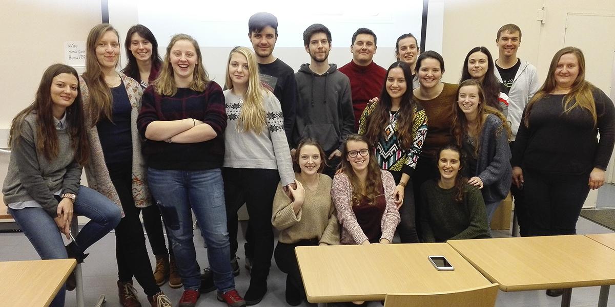 Erasmus 2018 vaihtarit