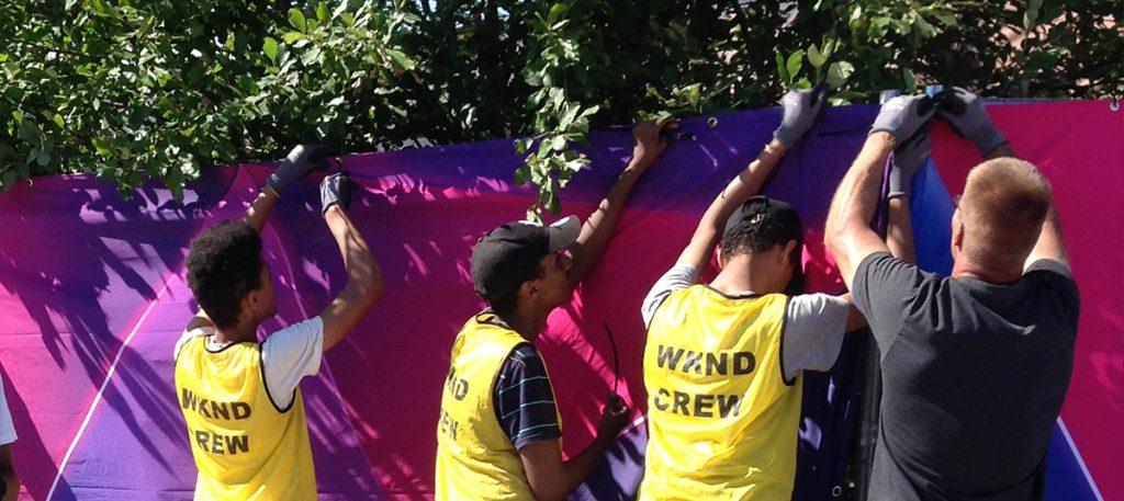 Festaripörssi valmentaa vapaaehtoisia