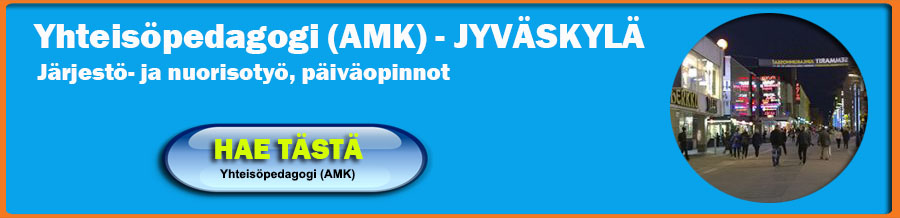 Hae Jyväskylään yhteisöpedagogikoulutukseen