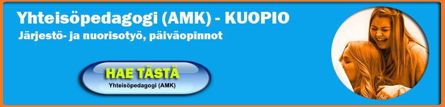 Yhteisöpedagogiksi Kuopiosta