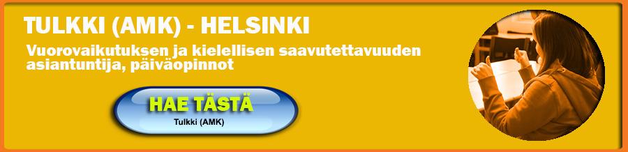 Opiskele tulkiksi Helsingin Humakissa