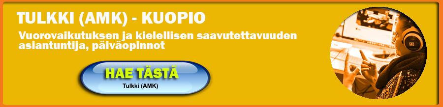 Humakin tulkkikoulutus Kuopiossa