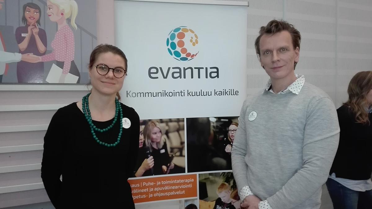 Siina Liimatainen ja Ville Virta