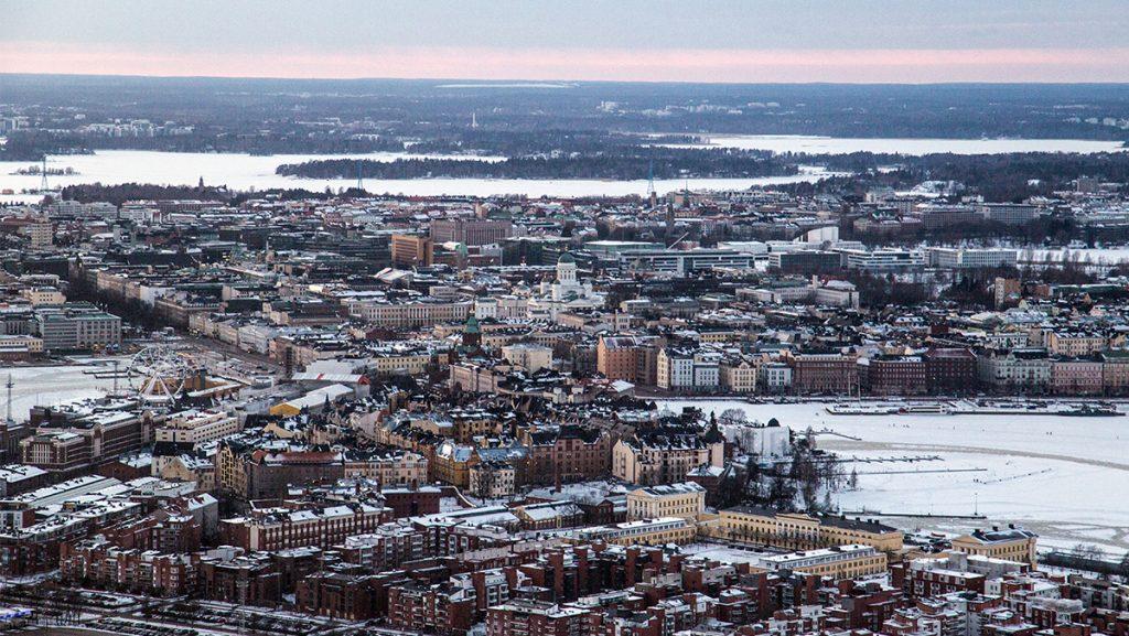 Helsinki ilmasta. Kuvaaja: Jarmo Röksä