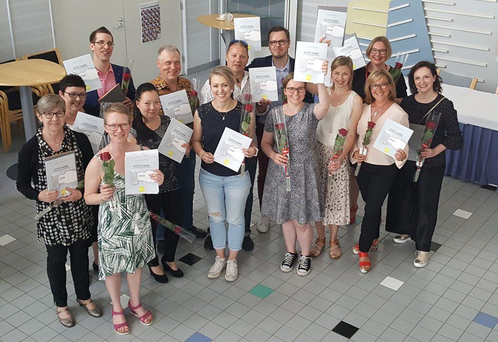 Kulttuurituotannon ylemmän AMK-tutkinnon suorittaneita, kevät 2018