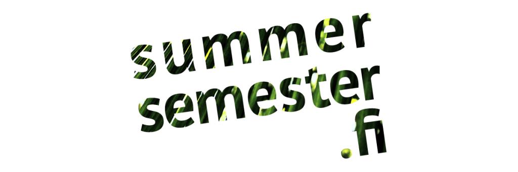 summersemester.fi logo 2018