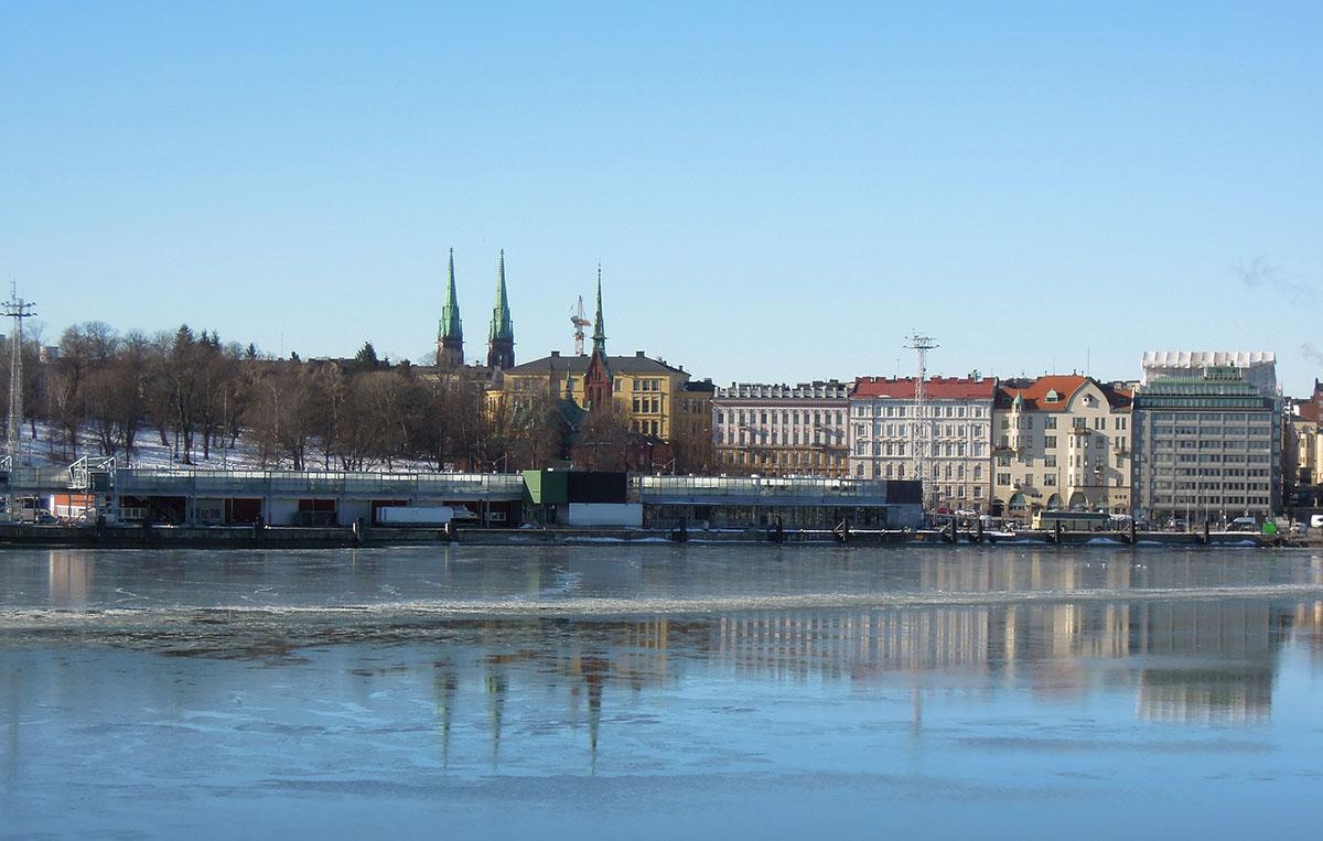 Helsinki view