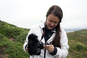 Filmmaker Erika Haavisto