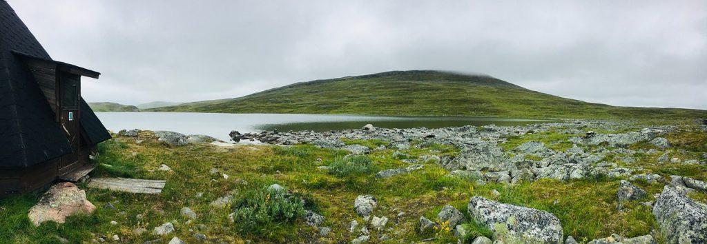 A wilderness cabin in Lapland