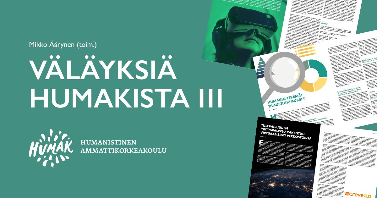 Valayksia Humakista. Mikko Äärynen (toimittaja).