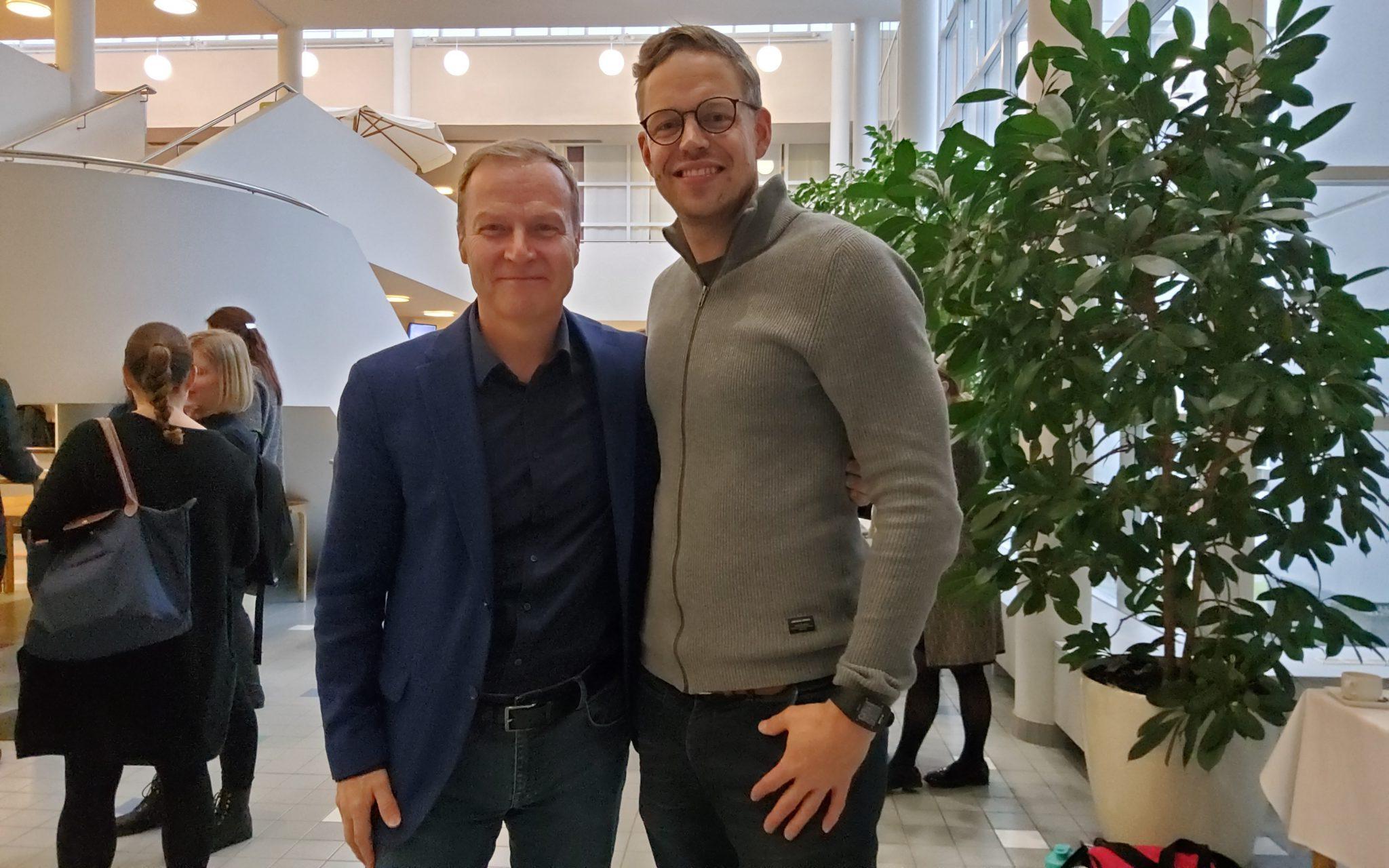 MarkoVuoriheimo ja Markku Jokinen.