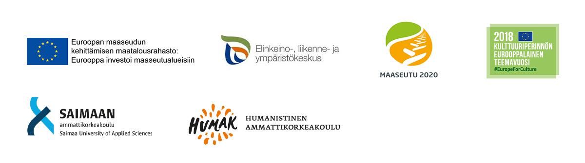 Rural Explorer -hankkeen logot.