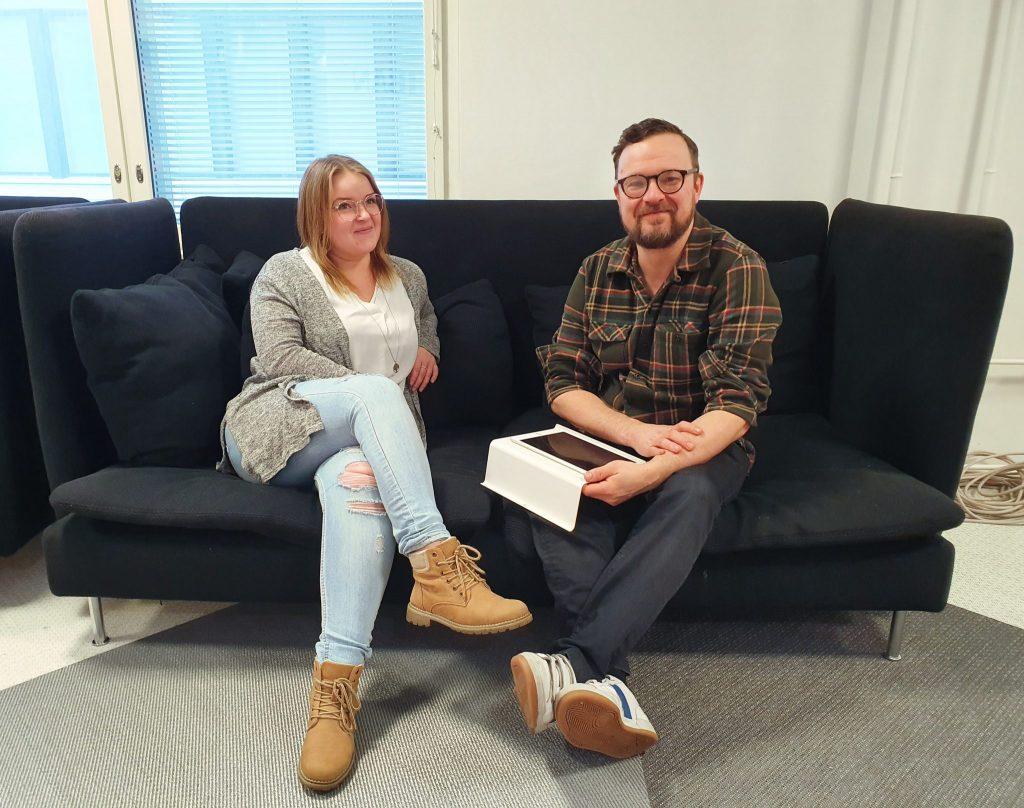 Humak-AMK-yhteisöpedagogit-Helena-ja-Jussi