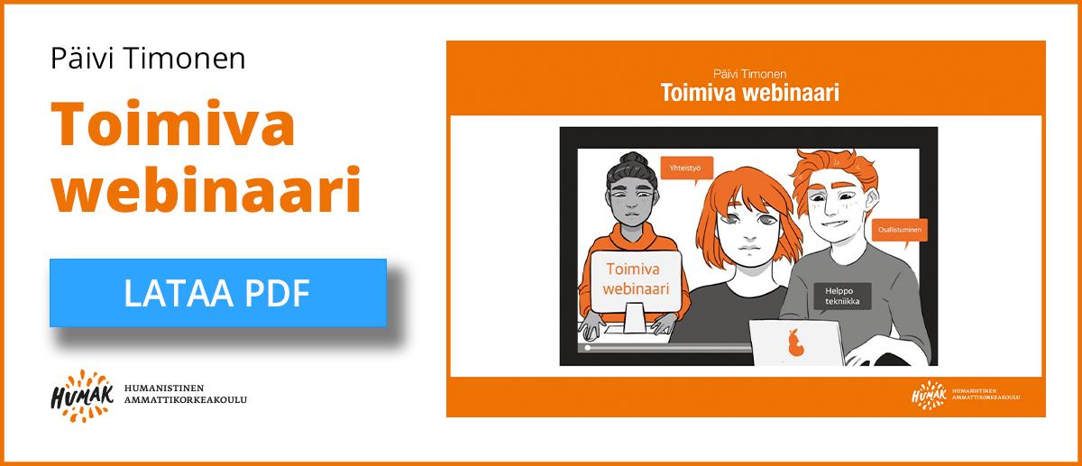 Klikkaa tästä toimiva weninaari -kirja verkko-opetuksen suunnittelu avuksesi.