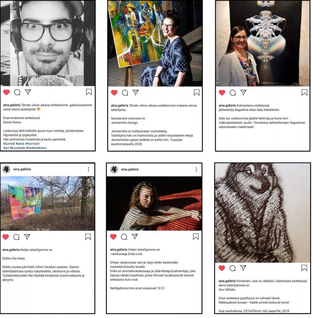 galleria-aina-taiteilijat