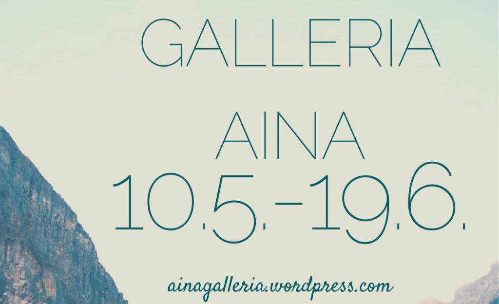 Teksti Galleria AINA.