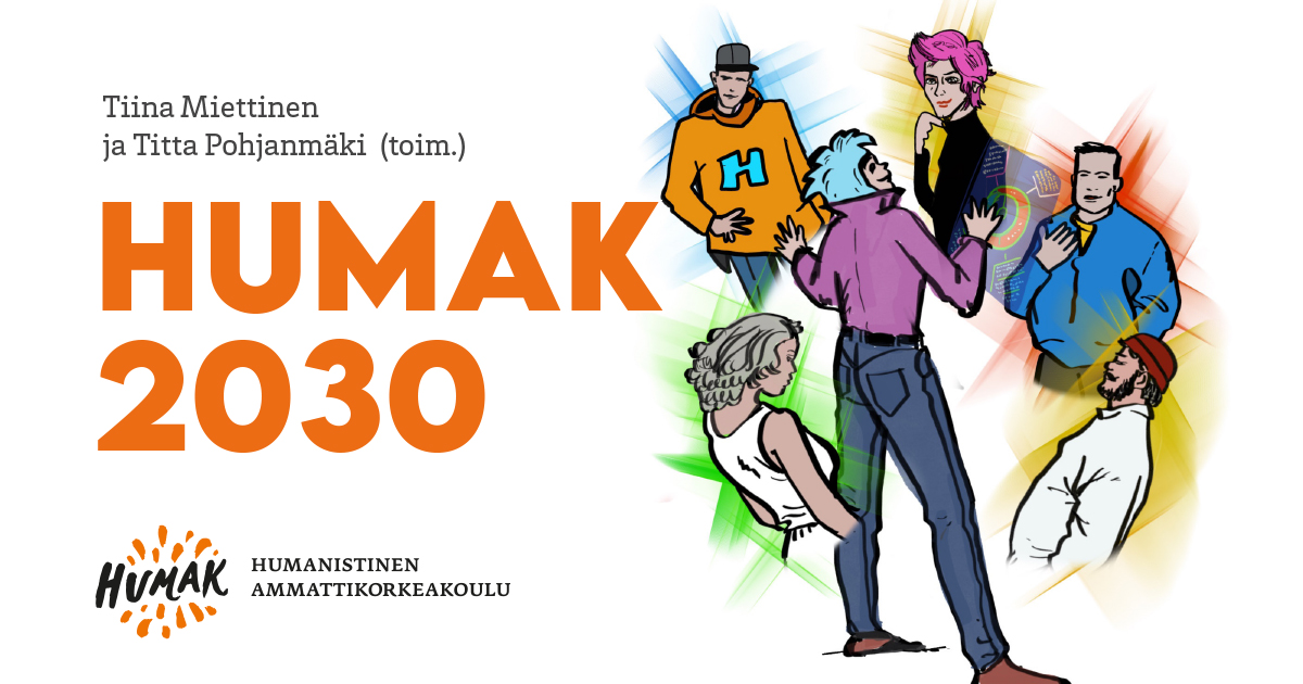 HUMAK 2030 -julkaisun kansikuva.